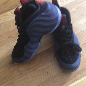 Denim foamposites size 7 new